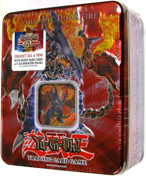 YuGiOh GX 2007 Collector Tin Volcanic Doomfire Collector Tin [Sealed]