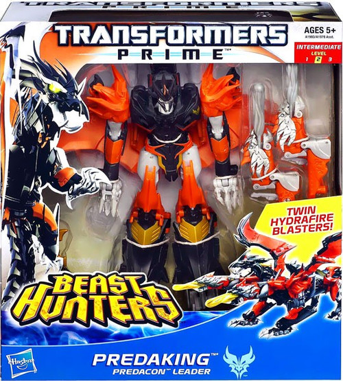 Transformers Prime Beast Hunters Predaking Voyager Action Figure