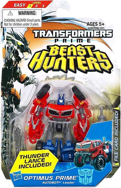 Transformers Beast Hunters Commander Optimus Prime Commander Action Figure