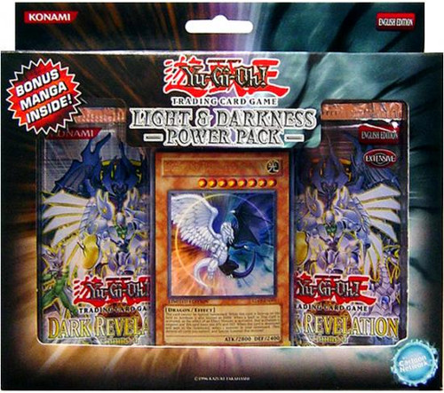 YuGiOh Light & Darkness Power Pack [Sealed]