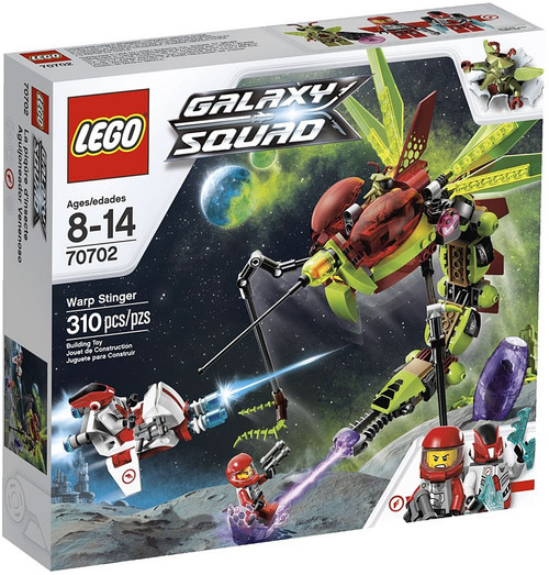 LEGO Galaxy Squad Warp Stinger Set #70702