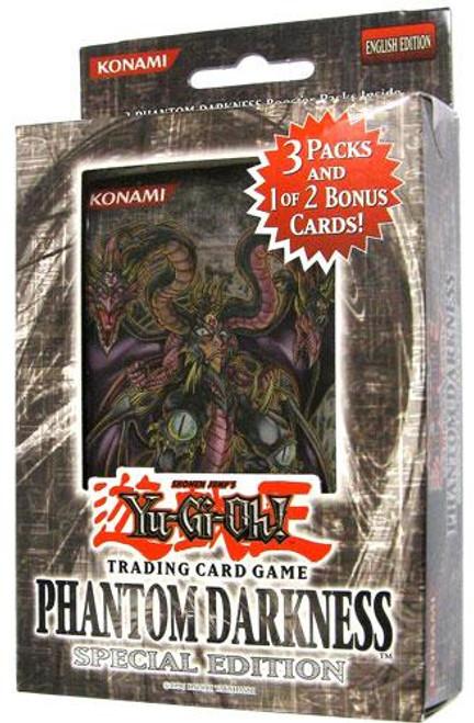 YuGiOh Phantom Darkness Special Edition Pack [3 Booster Packs & 1 Random Promo Card] [Sealed]
