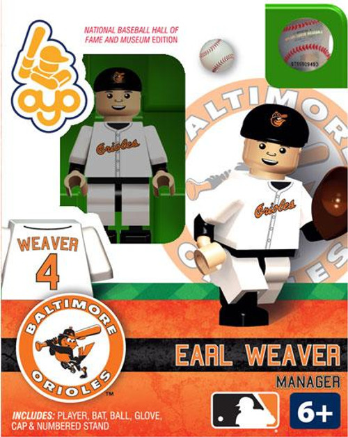 Baltimore Orioles MLB Hall of Fame Earl Weaver Minifigure