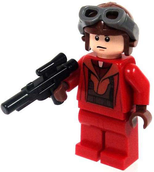 LEGO Star Wars Loose Naboo Pilot Minifigure [Red Jumpsuit Loose]