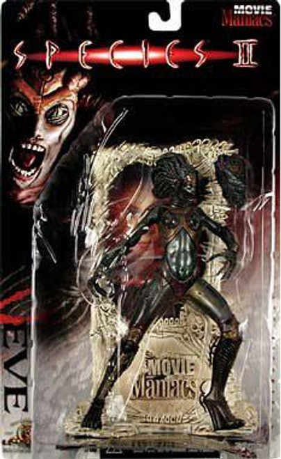 McFarlane Toys Species II Movie Maniacs Series 1 Eve Action Figure [Spiked Breasts]