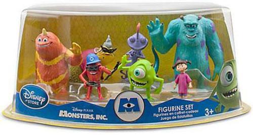 Disney / Pixar Monsters Inc Figurine Set Exclusive