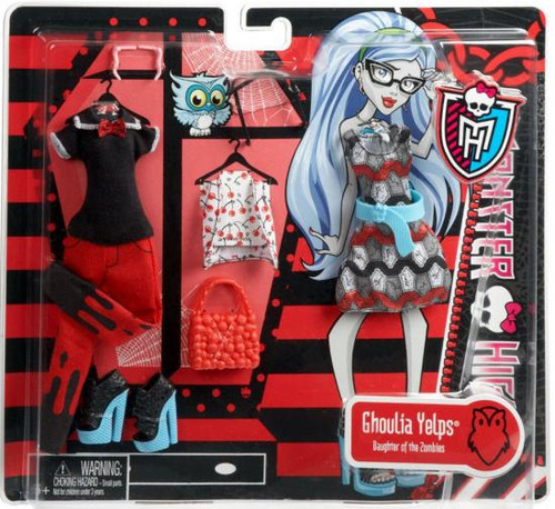 Monster High Ghoulia Yelps Fashion Pack