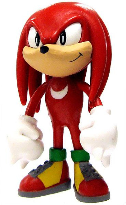 Sonic The Hedgehog Knuckles 2-Inch PVC Figure [Loose]