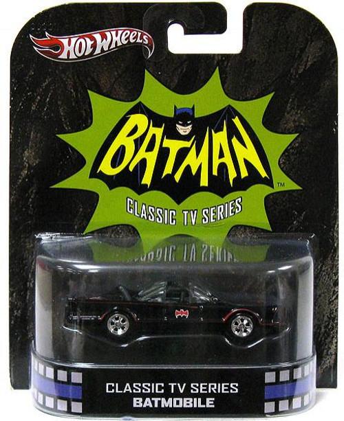 Batman Hot Wheels Retro Batmobile Diecast Vehicle [Classic TV Series]