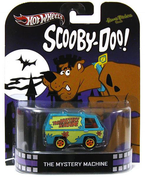 Scooby Doo Hot Wheels Retro Mystery Machine Diecast Vehicle