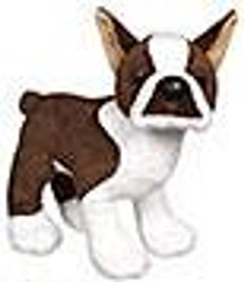 Webkinz Brown Boston Terrier Plush