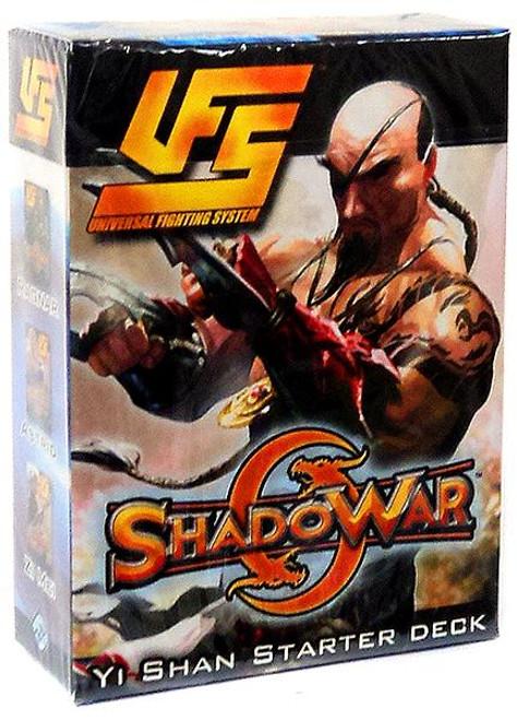 Universal Fighting System ShadoWar Yi Shan Starter Deck