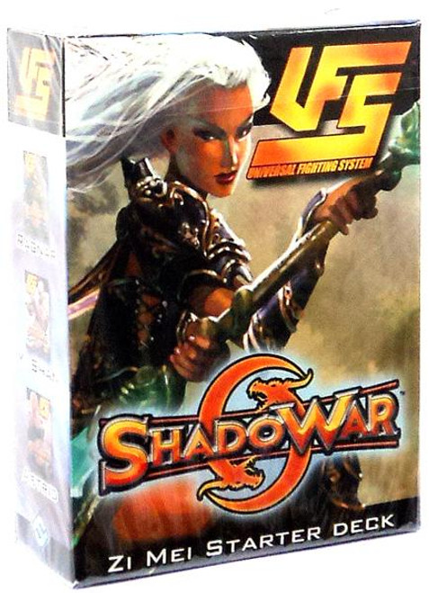Universal Fighting System ShadoWar Zi Mei Starter Deck