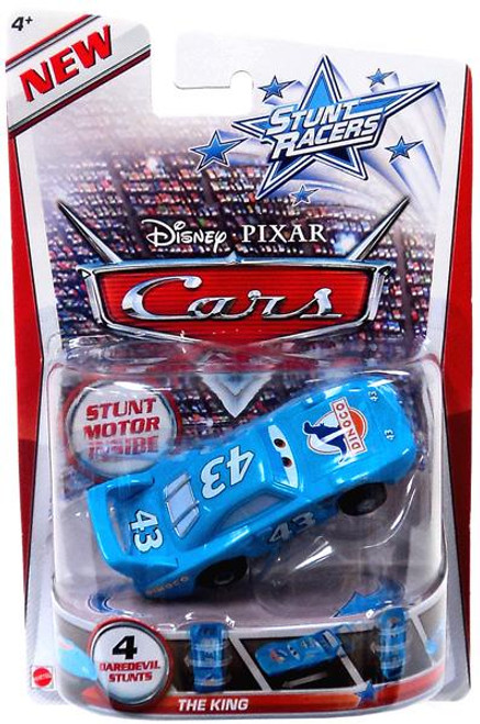 Disney Cars Stunt Racers The King Plastic Car