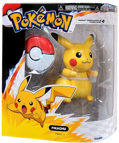 Pokemon Black & White Remote Control Training Figures Pikachu R/C Figure