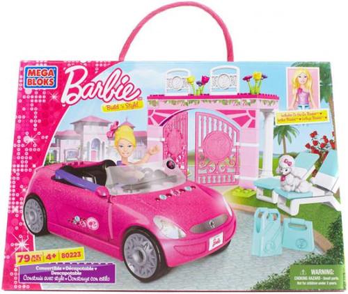 Mega Bloks Barbie Build 'n Style Convertible Set #80223