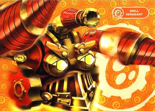 Skylanders Giants 50-Piece Puzzles Drill Sergeant Puzzle