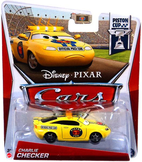 Disney Cars Series 3 Charlie Checker Diecast Car