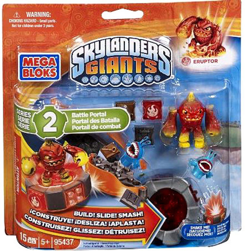 Mega Bloks Skylanders Giants Battle Portals Series 2 Eruptor Battle Portal Set #95437