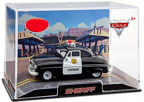 Disney Cars Cars 2 1:43 Collectors Case Sheriff Exclusive Diecast Car