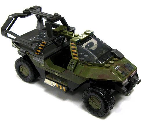 Mega Bloks Halo Loose UNSC Warthog [Transport Loose]