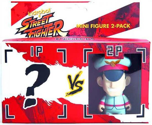 Street Fighter M Bison 3-Inch Vinyl Figure 2-Pack