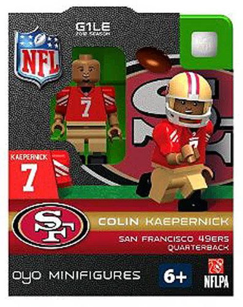 San Francisco 49ers NFL Generation 1 2012 Season Colin Kaepernick Minifigure