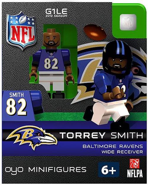 Baltimore Ravens NFL Generation 1 2012 Season Torrey Smith Minifigure