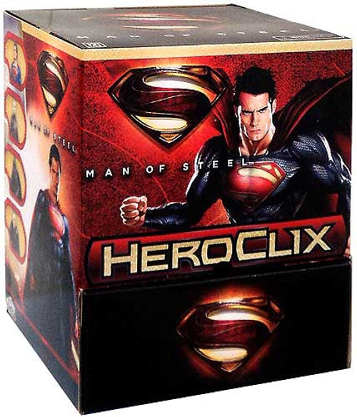 DC HeroClix Man of Steel Booster Box
