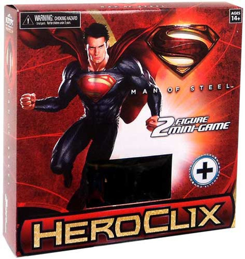 Superman HeroClix Man of Steel Mini Game