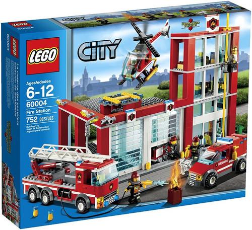 LEGO City Fire Station Set #60004