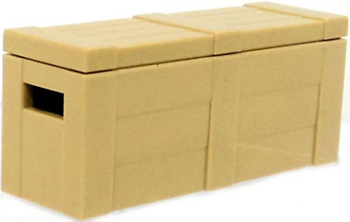 BrickArms Crate with Lid 2.5-Inch [Tan]
