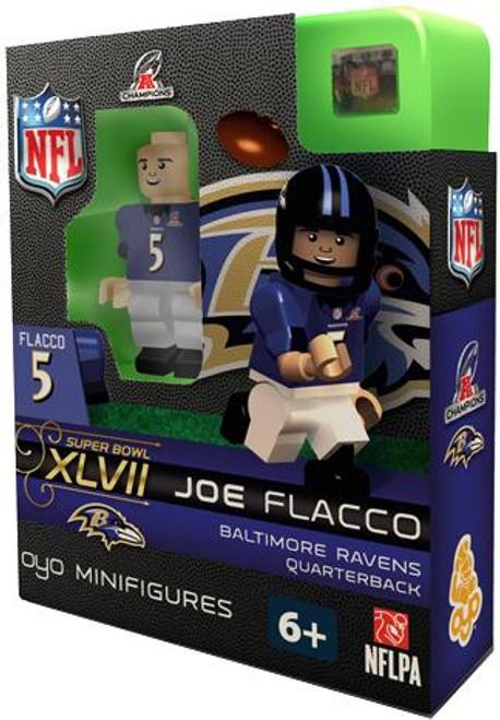 Baltimore Ravens NFL Super Bowl XLVII Joe Flacco Minifigure