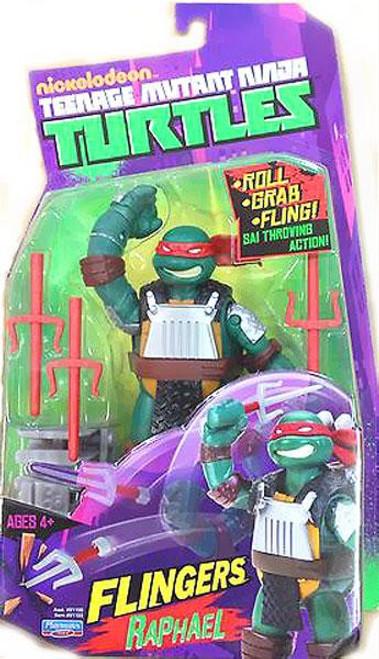 Teenage Mutant Ninja Turtles Nickelodeon Flingers Raphael Action Figure