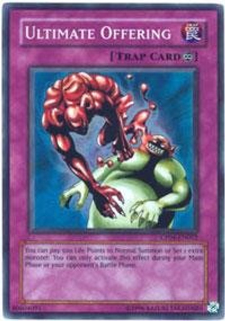 YuGiOh GX Champion Pack: Game 4 Super Rare Ultimate Offering CP04-EN002