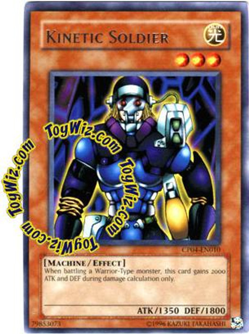 YuGiOh GX Champion Pack: Game 4 Rare Kinetic Soldier CP04-EN010
