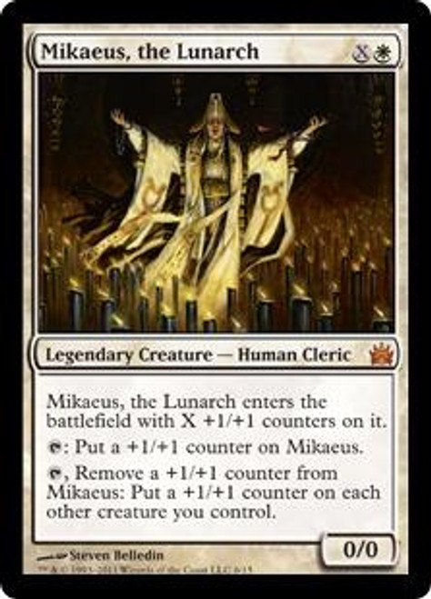 MtG From the Vault: Legends Mythic Rare Mikaeus, the Lunarch #6