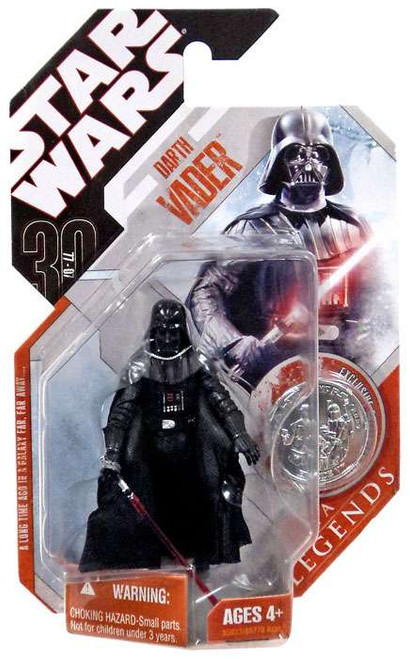 Star Wars A New Hope Saga Legends 2007 30th Anniversary Darth Vader Action Figure #1