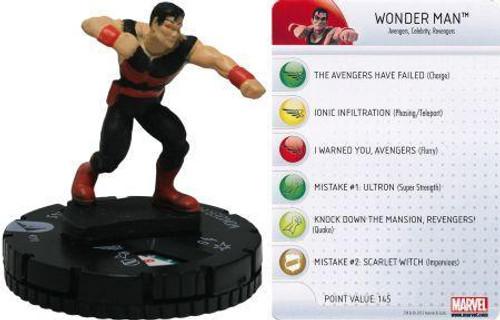Marvel HeroClix Chaos War Wonder Man #210