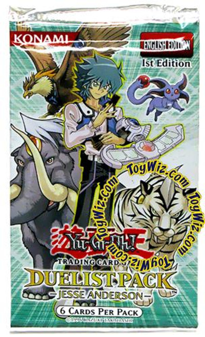 YuGiOh Duelist Pack Jesse Anderson Booster Pack [Sealed]