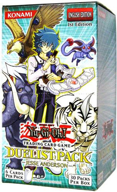 YuGiOh Duelist Pack Jesse Anderson Booster Box [Sealed]