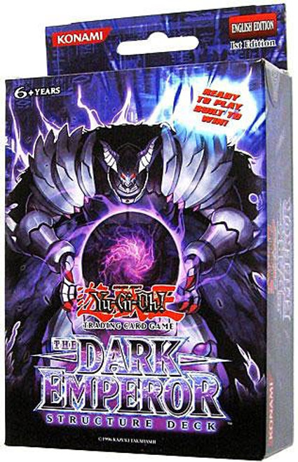 YuGiOh Structure Deck: The Dark Emperor The Dark Emperor Structure Deck [1st Edition] [Sealed Deck]