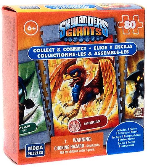 Skylanders Giants 80-Piece Puzzles Sunburn Puzzle