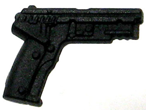 GI Joe Loose Weapons Semi-Automatic Pistol Action Figure Accessory [Black Loose]