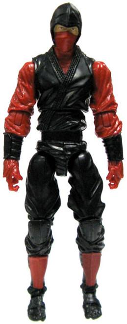 GI Joe Loose Red Ninja Action Figure [Version 5 Loose]
