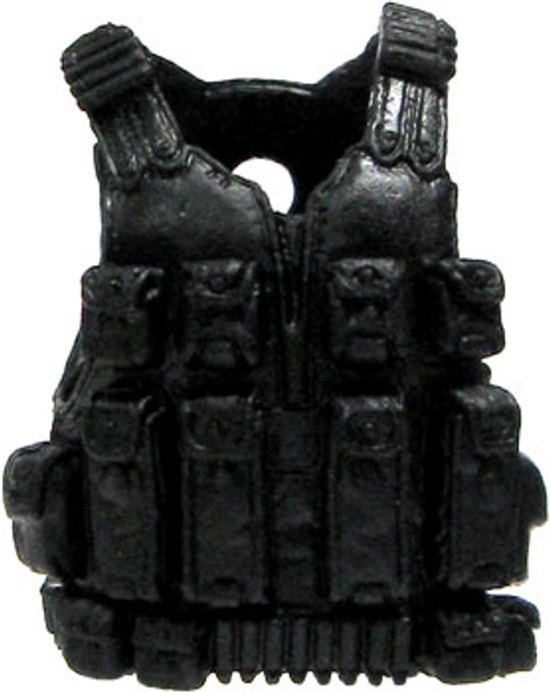GI Joe Loose Tactical Vest Action Figure Accessory [Black Loose]