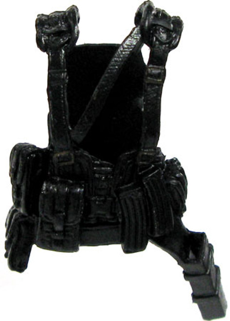 GI Joe Loose Tactical Harness with Belt Sheath Action Figure Accessory [Black Loose]