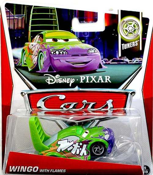 Disney Cars Series 3 Wingo with Flames Diecast Car