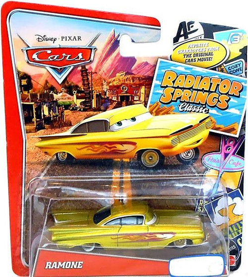 Disney Cars Radiator Springs Classic Ramone Exclusive Diecast Car [Yellow]
