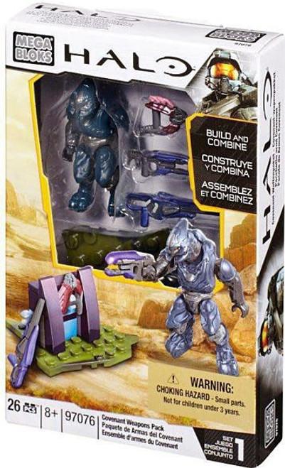 Mega Bloks Halo Covenant Weapons Pack Set #97076